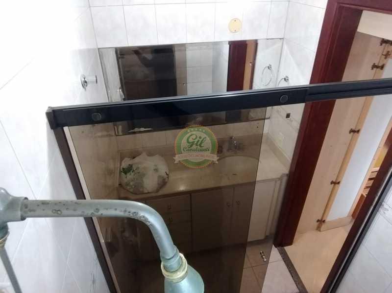 Banheiro suíte  - Apartamento Jacarepaguá,Rio de Janeiro,RJ À Venda,2 Quartos,98m² - AP1746 - 17