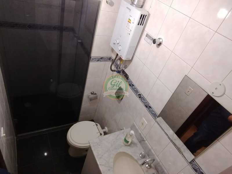 Banheiro - Apartamento Jacarepaguá,Rio de Janeiro,RJ À Venda,2 Quartos,98m² - AP1746 - 19
