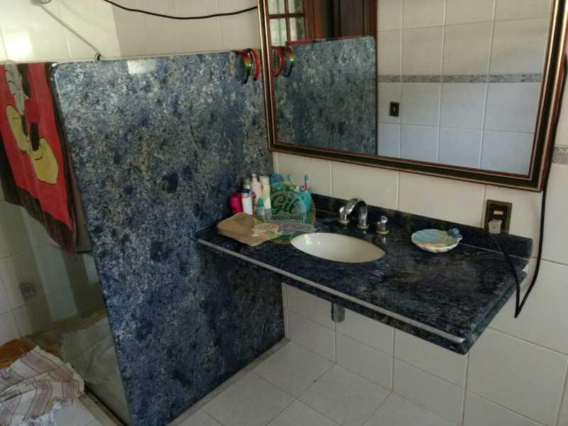 Banheiro 1 - Casa em Condomínio 4 quartos à venda Jacarepaguá, Rio de Janeiro - R$ 990.000 - CS2214 - 11