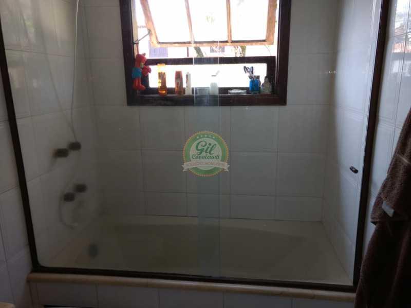 Banheiro 2 - Casa em Condomínio 4 quartos à venda Jacarepaguá, Rio de Janeiro - R$ 990.000 - CS2214 - 16