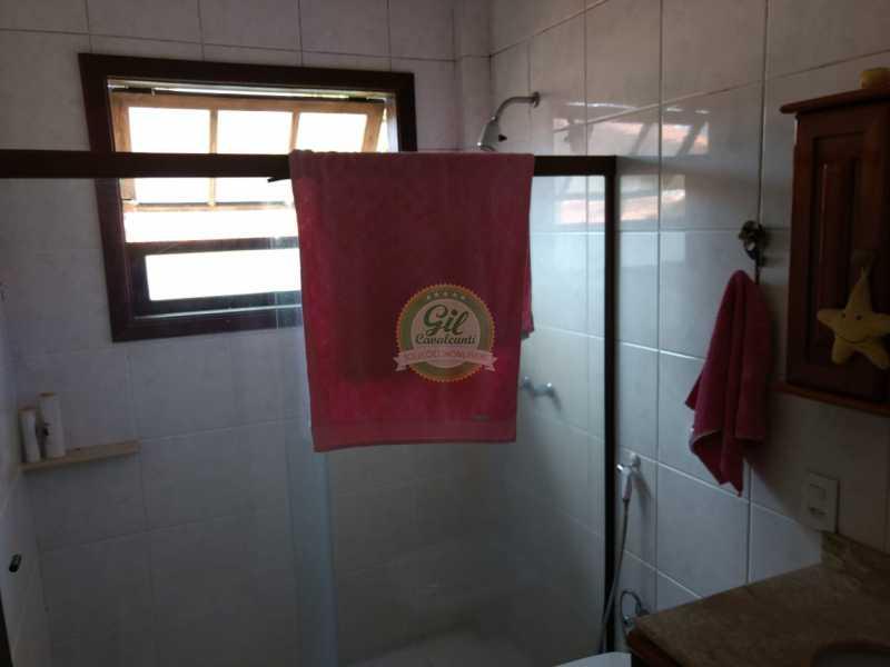 Banheiro 2 - Casa em Condomínio 4 quartos à venda Jacarepaguá, Rio de Janeiro - R$ 990.000 - CS2214 - 17
