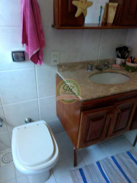 Banheiro 2 - Casa em Condomínio 4 quartos à venda Jacarepaguá, Rio de Janeiro - R$ 990.000 - CS2214 - 15
