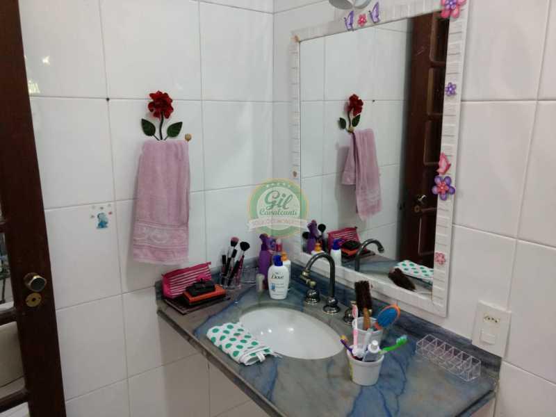 Banheiro 3 - Casa em Condomínio 4 quartos à venda Jacarepaguá, Rio de Janeiro - R$ 990.000 - CS2214 - 20