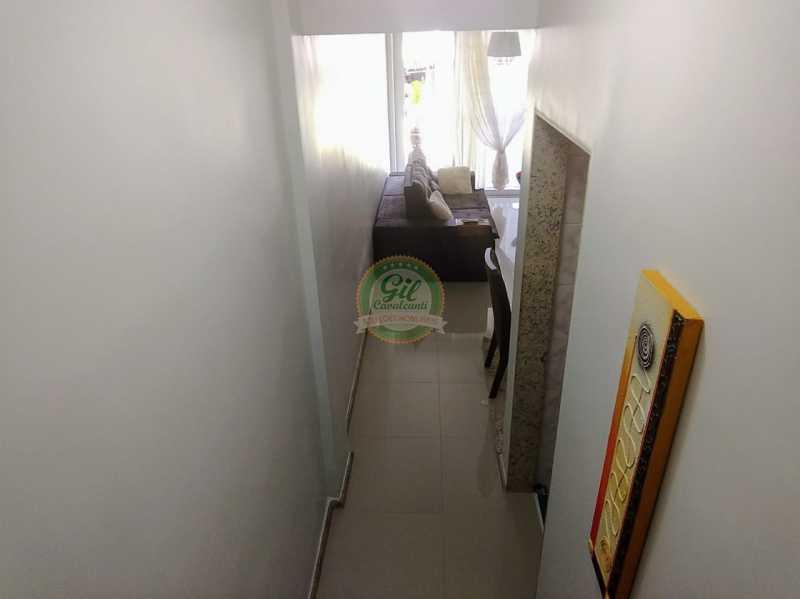 Corredor - Apartamento Curicica,Rio de Janeiro,RJ À Venda,2 Quartos,63m² - APR1074 - 9