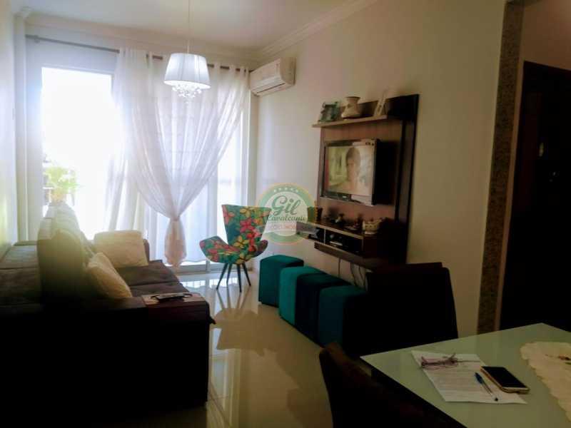 Sala  - Apartamento À Venda - Curicica - Rio de Janeiro - RJ - APR1074 - 8