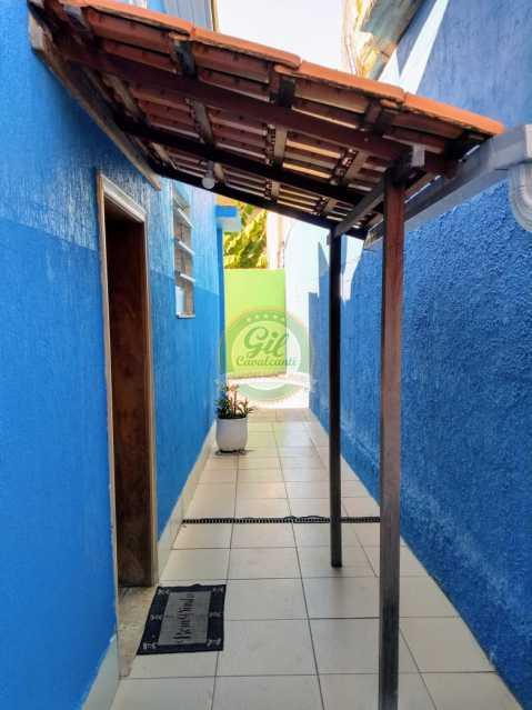 Entrada - Casa de Vila À Venda - Tanque - Rio de Janeiro - RJ - CS2224 - 3