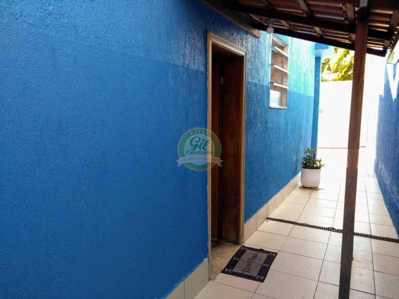 Entrada - Casa de Vila À Venda - Tanque - Rio de Janeiro - RJ - CS2224 - 4