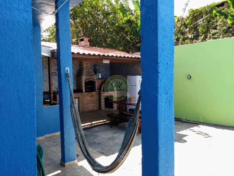 Quintal Fundos  - Casa de Vila À Venda - Tanque - Rio de Janeiro - RJ - CS2224 - 6