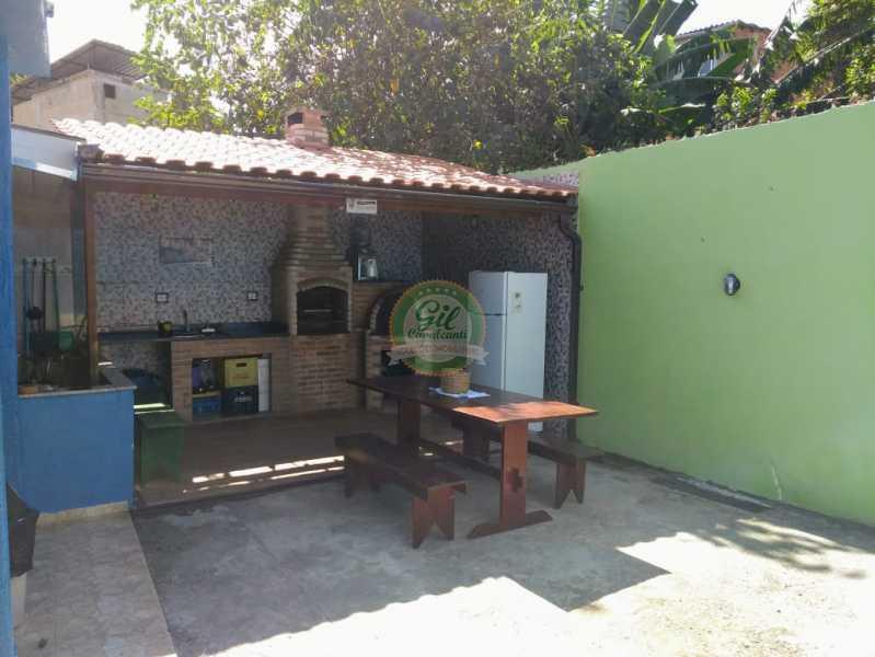 Quintal Fundos  - Casa de Vila À Venda - Tanque - Rio de Janeiro - RJ - CS2224 - 7