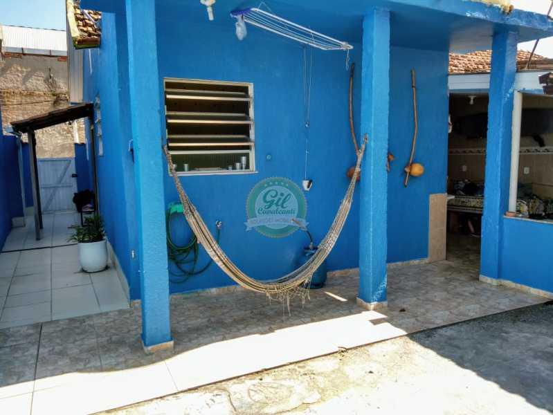 Quintal - Casa de Vila À Venda - Tanque - Rio de Janeiro - RJ - CS2224 - 10