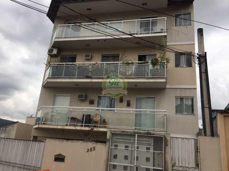 Fachada - Apartamento À Venda - Pechincha - Rio de Janeiro - RJ - AP1758 - 1