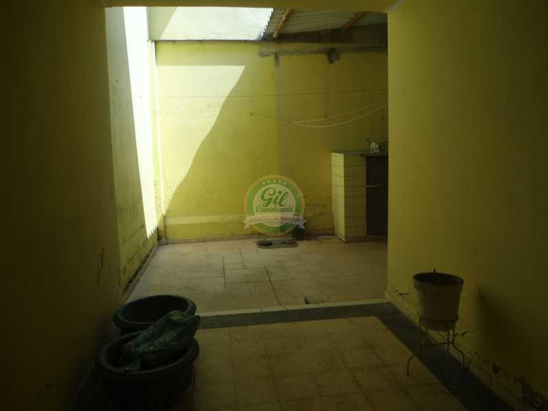 Quintal - Casa em Condomínio 2 quartos à venda Praça Seca, Rio de Janeiro - R$ 350.000 - CS2226 - 8