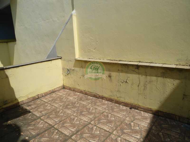 Terraço - Casa em Condomínio 2 quartos à venda Praça Seca, Rio de Janeiro - R$ 350.000 - CS2226 - 15