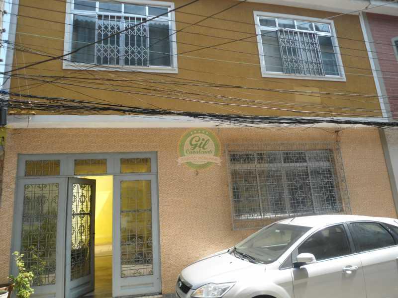 Fachada - Casa em Condomínio 2 quartos à venda Praça Seca, Rio de Janeiro - R$ 350.000 - CS2226 - 1