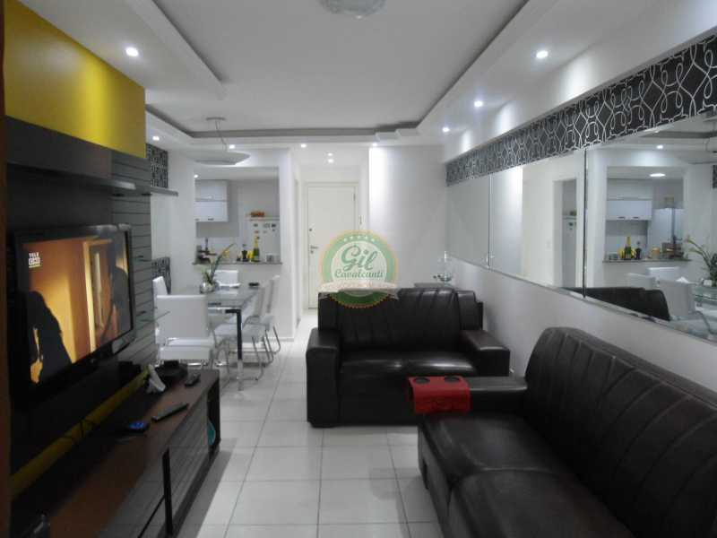 Sala  - Apartamento À Venda - Taquara - Rio de Janeiro - RJ - AP1760 - 1