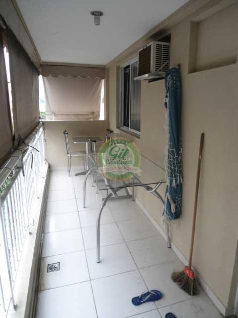 Varanda - Apartamento À Venda - Taquara - Rio de Janeiro - RJ - AP1760 - 8