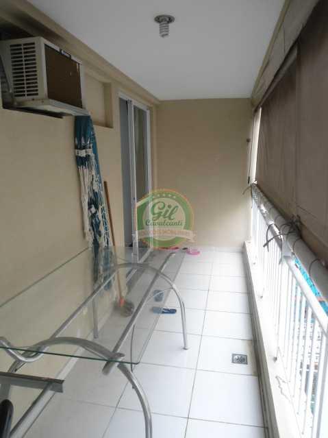 Varanda - Apartamento À Venda - Taquara - Rio de Janeiro - RJ - AP1760 - 9
