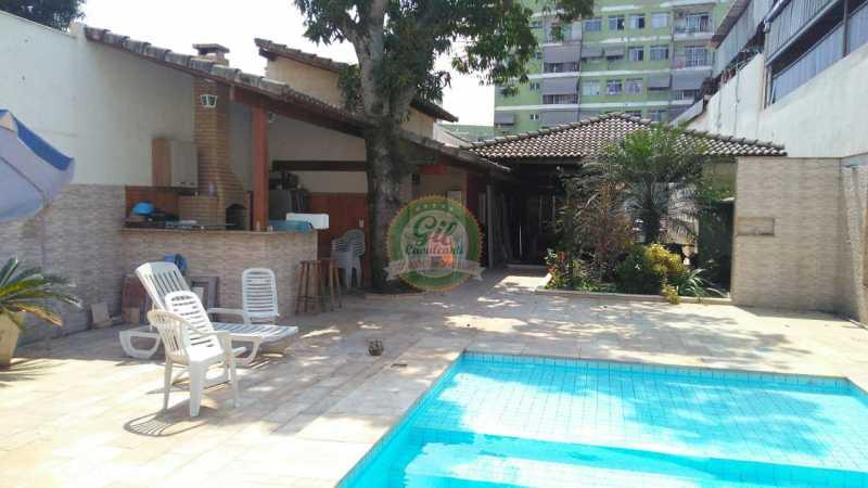 Quintal  - Casa 4 quartos à venda Vila Valqueire, Rio de Janeiro - R$ 960.000 - CS2228 - 5