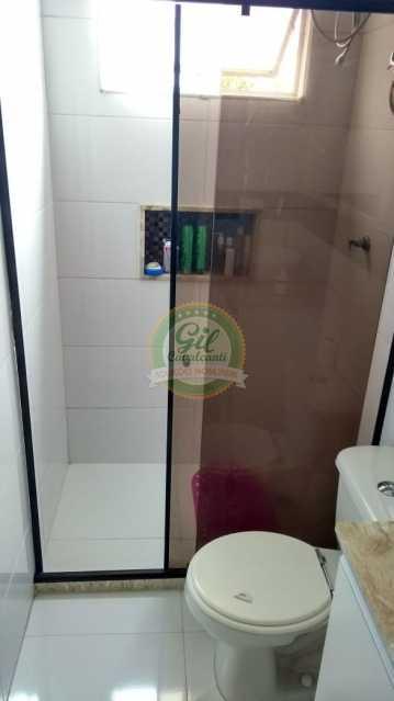 Banheiro Social  - Apartamento Taquara,Rio de Janeiro,RJ À Venda,2 Quartos,52m² - AP1766 - 4