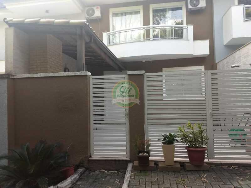 Fachada - Casa em Condomínio 3 quartos à venda Jacarepaguá, Rio de Janeiro - R$ 730.000 - CS2230 - 1