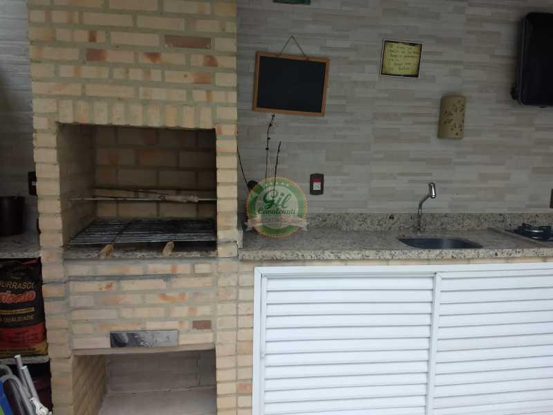 Churrasqueira - Casa em Condomínio 3 quartos à venda Jacarepaguá, Rio de Janeiro - R$ 730.000 - CS2230 - 29