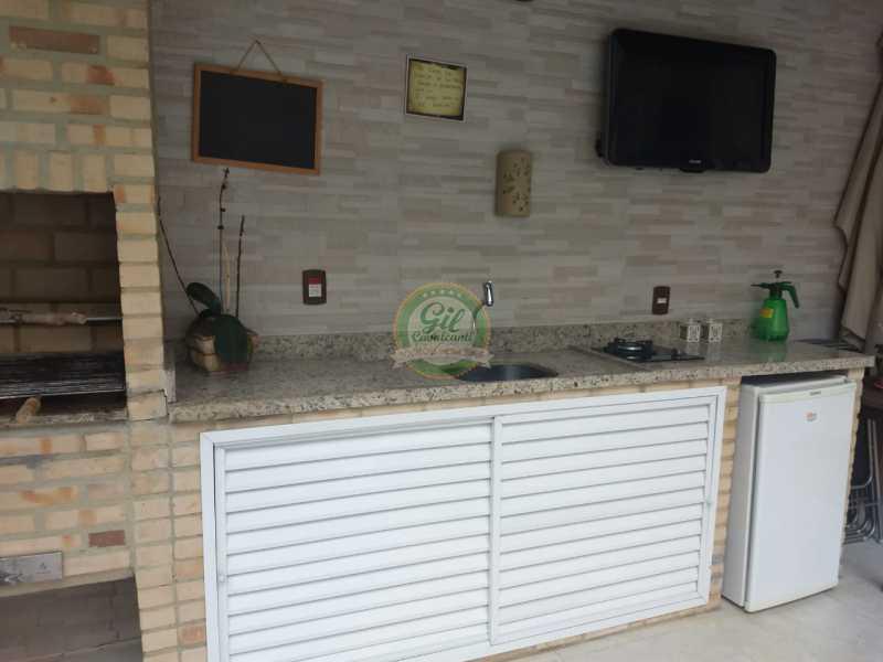 Churrasqueira - Casa em Condomínio 3 quartos à venda Jacarepaguá, Rio de Janeiro - R$ 730.000 - CS2230 - 28
