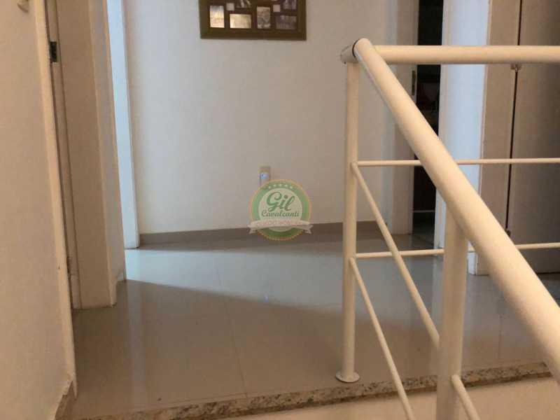 Hall 2º andar - Casa em Condomínio 3 quartos à venda Jacarepaguá, Rio de Janeiro - R$ 730.000 - CS2230 - 14