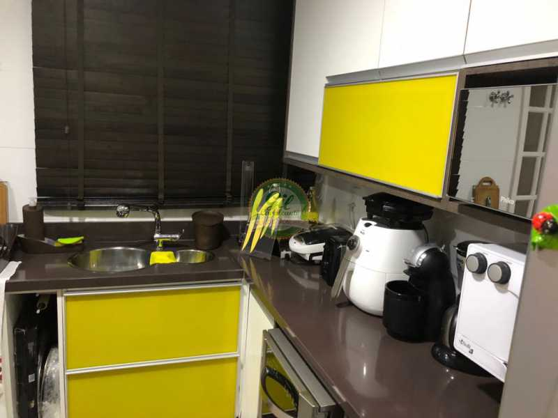 Cozinha  - Casa em Condomínio 3 quartos à venda Jacarepaguá, Rio de Janeiro - R$ 730.000 - CS2230 - 12