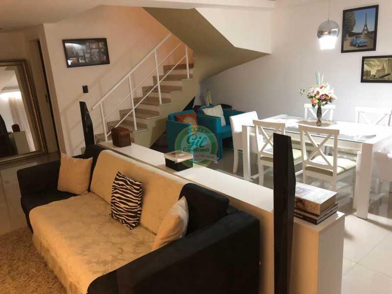 Sala  - Casa em Condomínio 3 quartos à venda Jacarepaguá, Rio de Janeiro - R$ 730.000 - CS2230 - 5