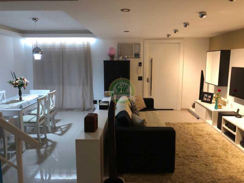 Sala  - Casa em Condomínio 3 quartos à venda Jacarepaguá, Rio de Janeiro - R$ 730.000 - CS2230 - 4