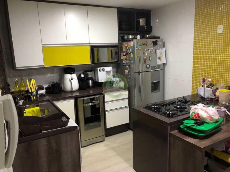 Cozinha  - Casa em Condomínio 3 quartos à venda Jacarepaguá, Rio de Janeiro - R$ 730.000 - CS2230 - 11