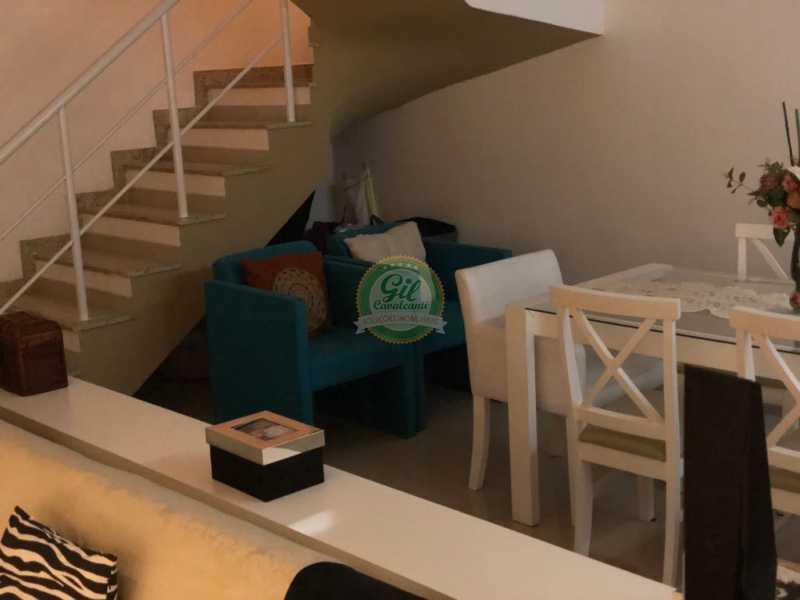 Sala  - Casa em Condomínio 3 quartos à venda Jacarepaguá, Rio de Janeiro - R$ 730.000 - CS2230 - 10