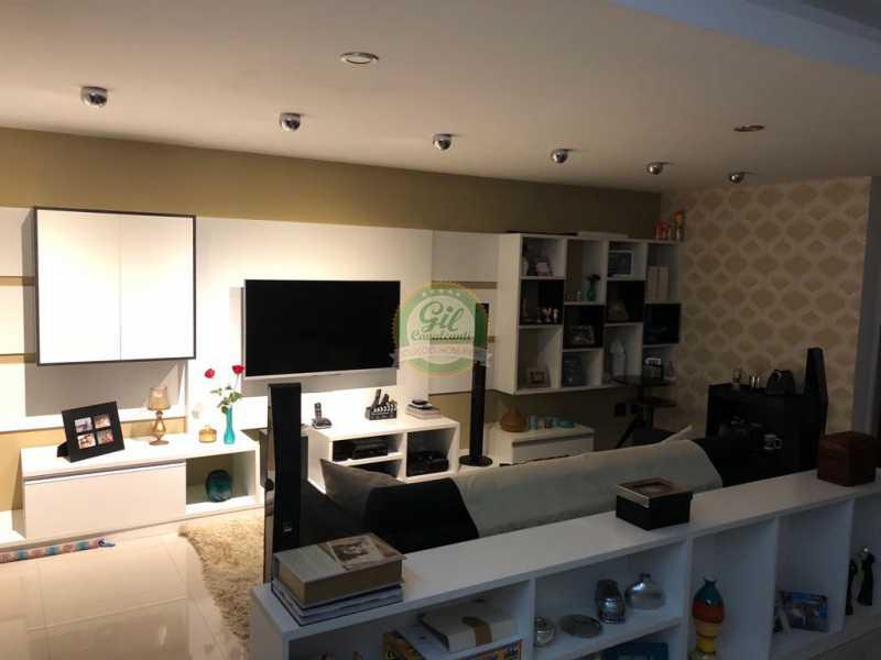 Sala  - Casa em Condomínio 3 quartos à venda Jacarepaguá, Rio de Janeiro - R$ 730.000 - CS2230 - 3