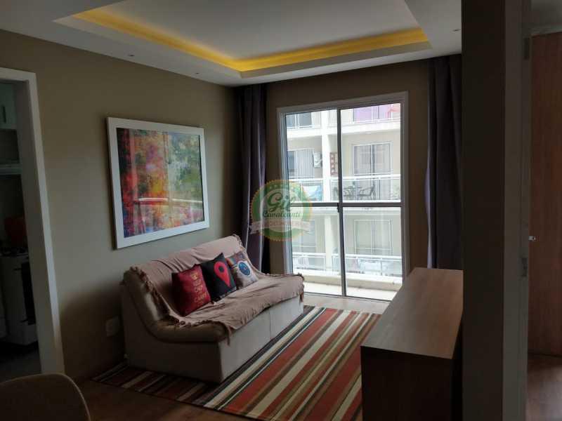 01-Sala - Apartamento Taquara,Rio de Janeiro,RJ À Venda,2 Quartos,53m² - AP1764 - 1