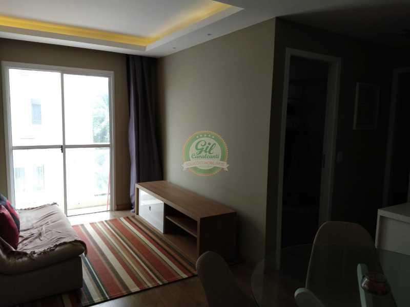 02-Sala - Apartamento Taquara,Rio de Janeiro,RJ À Venda,2 Quartos,53m² - AP1764 - 3