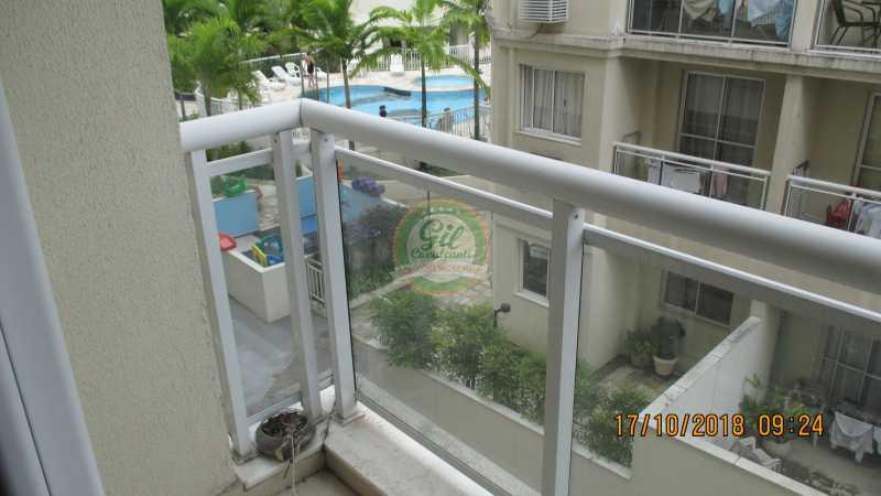 10-Varanda - Apartamento Taquara,Rio de Janeiro,RJ À Venda,2 Quartos,53m² - AP1764 - 11