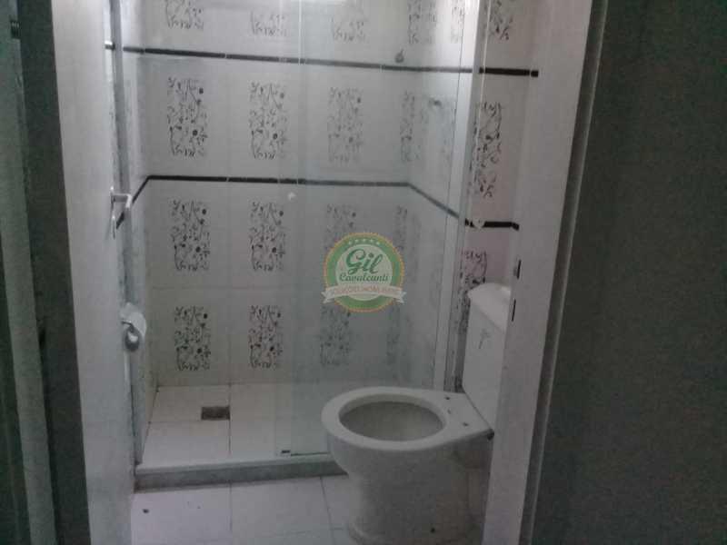 09-Banheiro Social - Apartamento Praça Seca,Rio de Janeiro,RJ À Venda,1 Quarto - AP1779 - 9