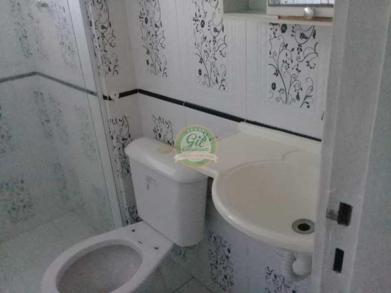 10-Banheiro Social - Apartamento Praça Seca,Rio de Janeiro,RJ À Venda,1 Quarto - AP1779 - 10