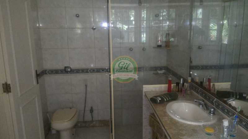 Banheiro 1. - Casa em Condomínio 3 quartos à venda Jacarepaguá, Rio de Janeiro - R$ 1.250.000 - CS2246 - 19