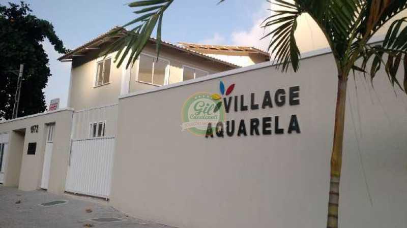 44 - Casa em Condomínio Jardim Sulacap, Rio de Janeiro, RJ À Venda, 2 Quartos, 60m² - CS2260 - 1