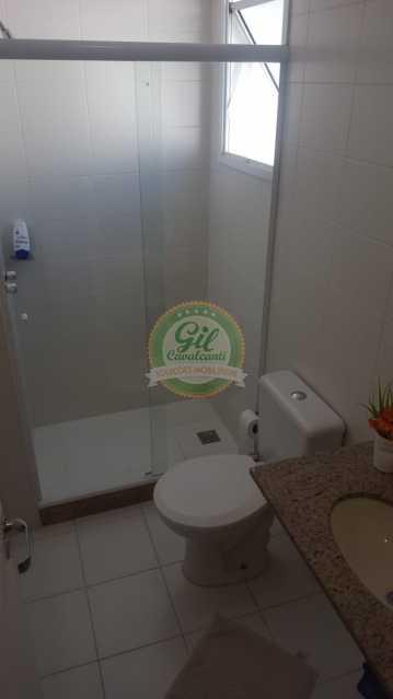 1 - Cobertura 2 quartos à venda Taquara, Rio de Janeiro - R$ 550.000 - CB0205 - 14