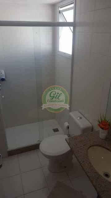 4 - Cobertura 2 quartos à venda Taquara, Rio de Janeiro - R$ 550.000 - CB0205 - 16
