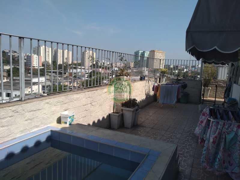 7023719e-be28-4a01-9c9e-43c96e - Cobertura 3 quartos à venda Tanque, Rio de Janeiro - R$ 420.000 - CB0212 - 7