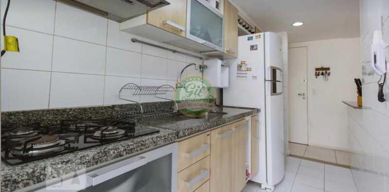 Cozinha. - Cobertura 3 quartos à venda Taquara, Rio de Janeiro - R$ 520.000 - CB0221 - 16