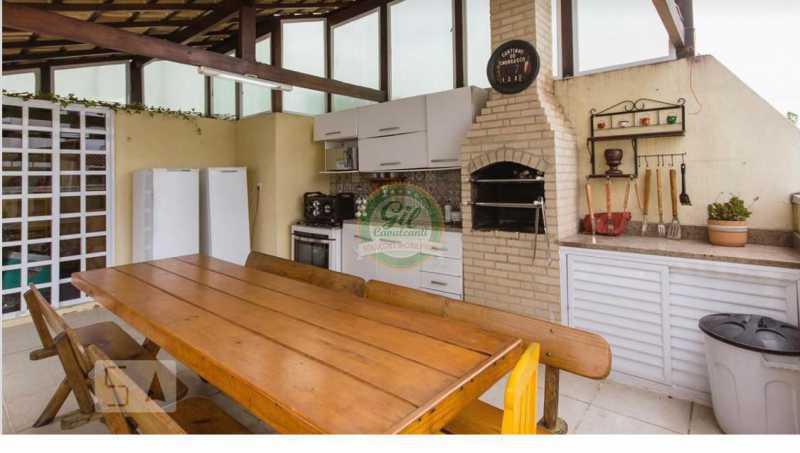 Lazer 1. - Cobertura 3 quartos à venda Taquara, Rio de Janeiro - R$ 520.000 - CB0221 - 24