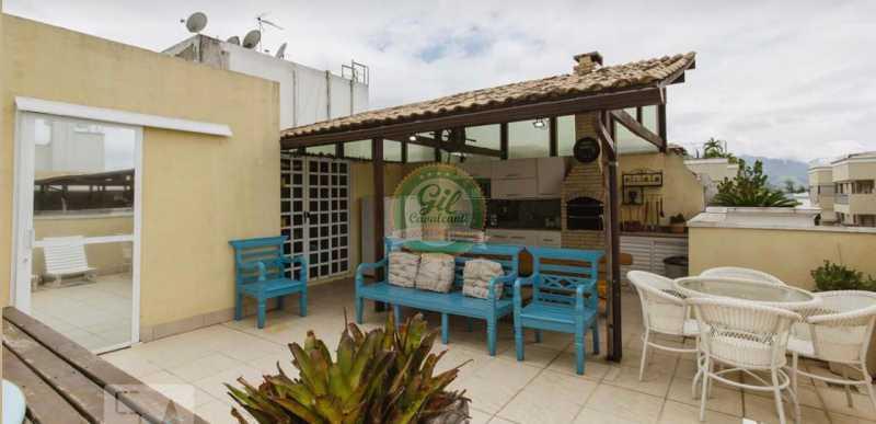 Lazer 3. - Cobertura 3 quartos à venda Taquara, Rio de Janeiro - R$ 520.000 - CB0221 - 25