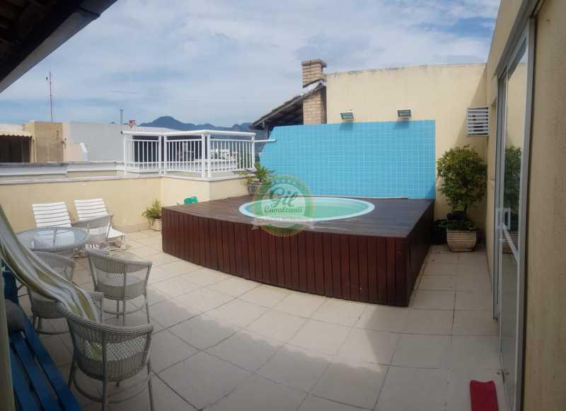 Piscina 1. - Cobertura 3 quartos à venda Taquara, Rio de Janeiro - R$ 520.000 - CB0221 - 27
