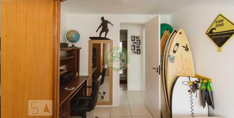 Quarto 2. - Cobertura 3 quartos à venda Taquara, Rio de Janeiro - R$ 520.000 - CB0221 - 18