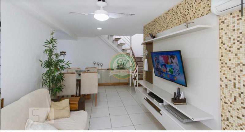 Sala 1. - Cobertura 3 quartos à venda Taquara, Rio de Janeiro - R$ 520.000 - CB0221 - 12