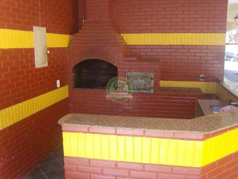 0areaexternachurrasqueira - Casa em Condomínio 3 quartos à venda Jardim Sulacap, Rio de Janeiro - R$ 299.000 - CS2482 - 30